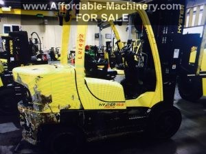 Affordable Machinery | Used Large Capacity Forklifts For